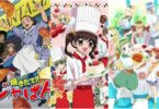 Anime series about cooking and baking will definitely spoil your diet